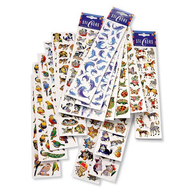 Glitzer Stickers Tiere 320tlg.