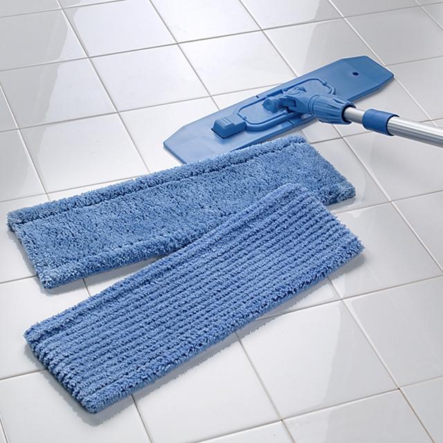 Mikrofaser Moppset Maxtech blau