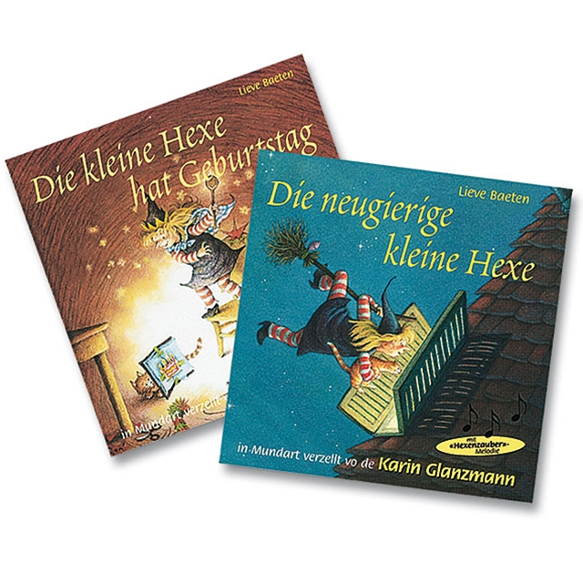 Kindermärchen Die kleine Hexe 2 CD's