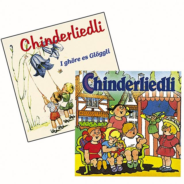 Kinderlieder 2 CD's