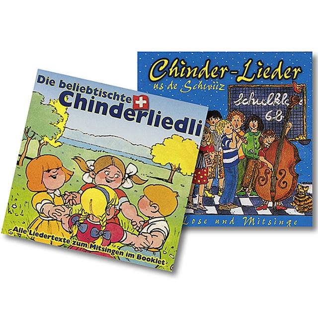 Schweizer Kinderlieder 2 CD's