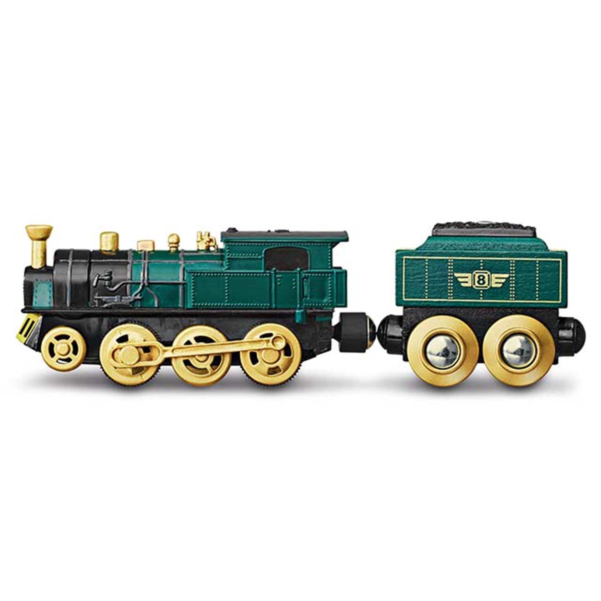 Dampfloki 4x4 für Holzeisenbahn