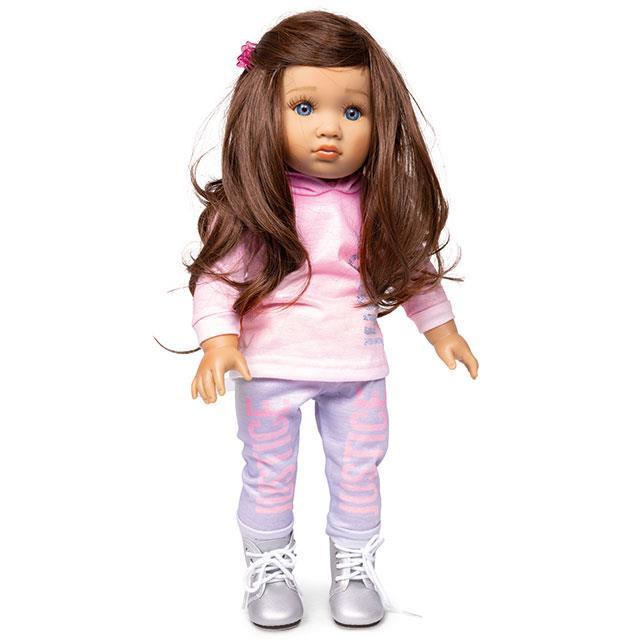 Teen'ee Puppe Joy mit langen Haaren