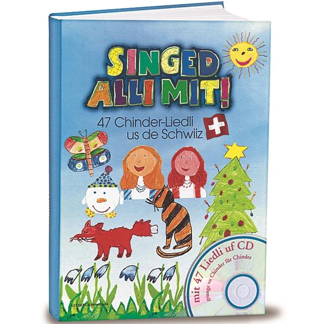 Singed alli mit Kinderlieder CD und Textbuch
