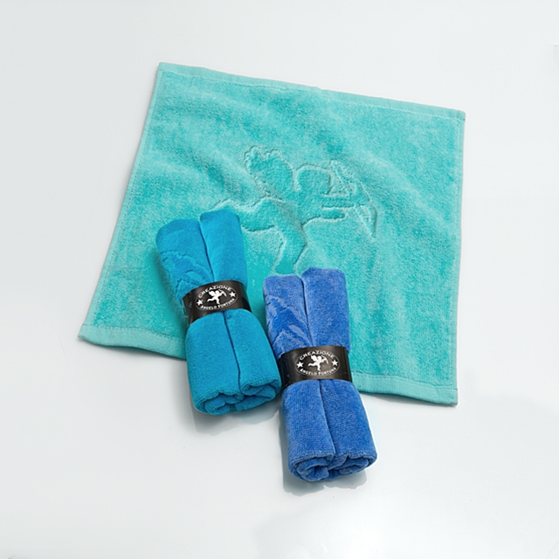 Waschlappen 3 Stk. Ocean Blue