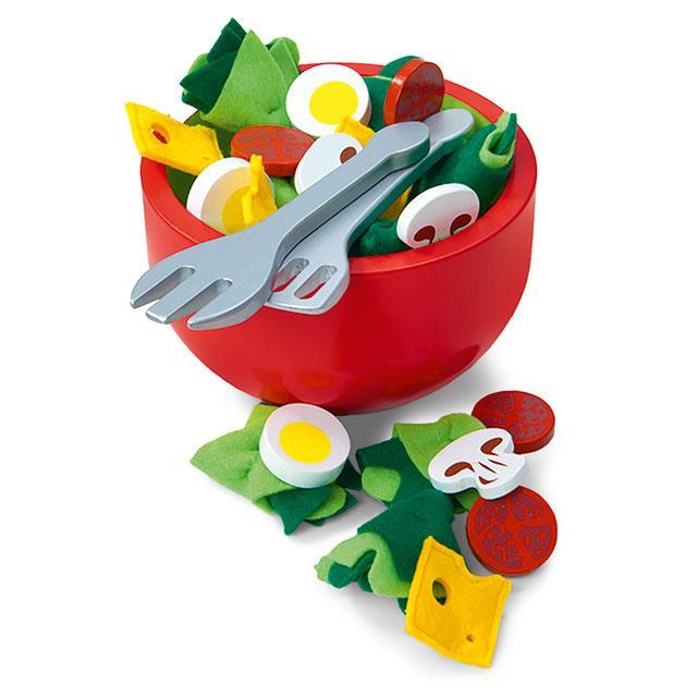 Spiellebensmittel Salat Schüssel