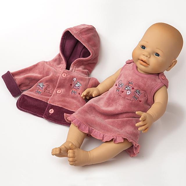 Puppenkleid Nikki mit Hoody BL