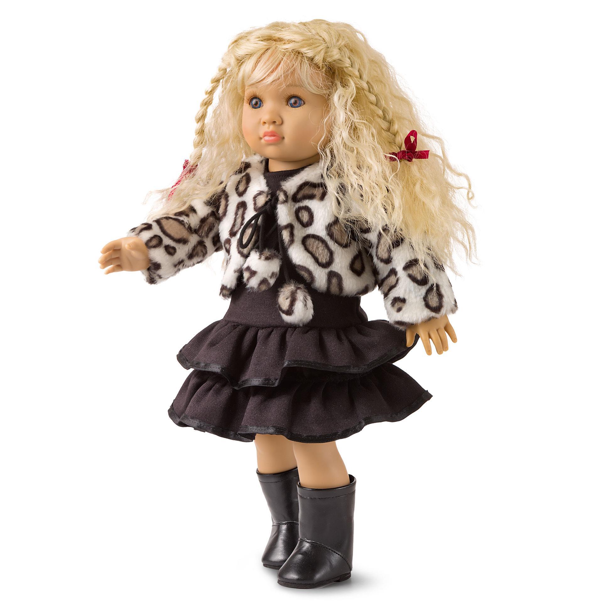 Puppenkleid Prinzessin und Gala Traum 3tlg. HL