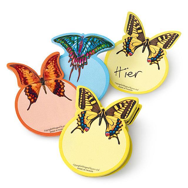 Stickerblocks Schmetterling 3 Stk.