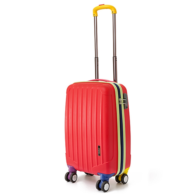 Kinderkoffer 4 Rollen Red Travel