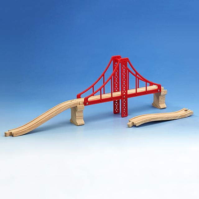 Holzeisenbahn Brücke Golden Gate