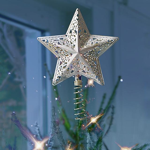 Puntale A Stella Per Albero Di Natale.Bea Swiss Puntale A Stella Per Albero Di Natale