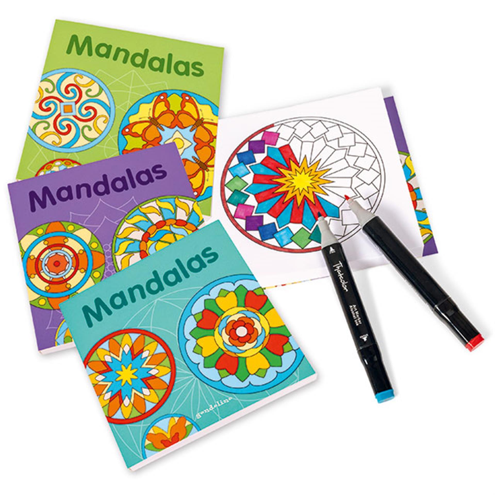 Ausmalbücher Mandalas Klassik 4 Stk.