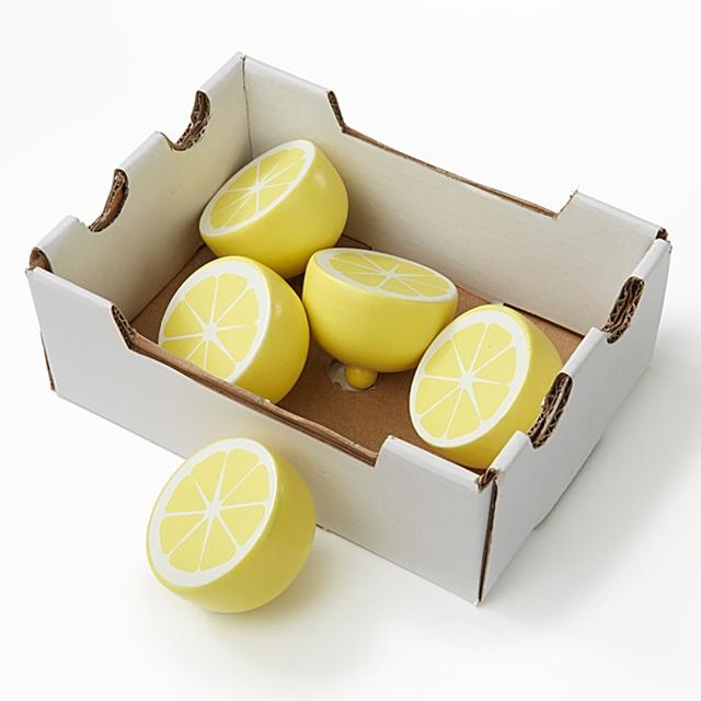 Holz Zitronen