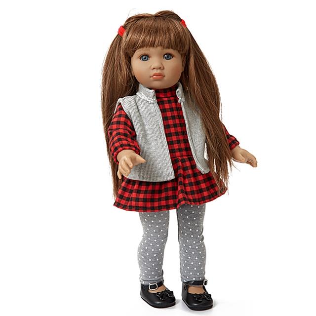 Teen'ee Puppe Lara mit langen Haaren