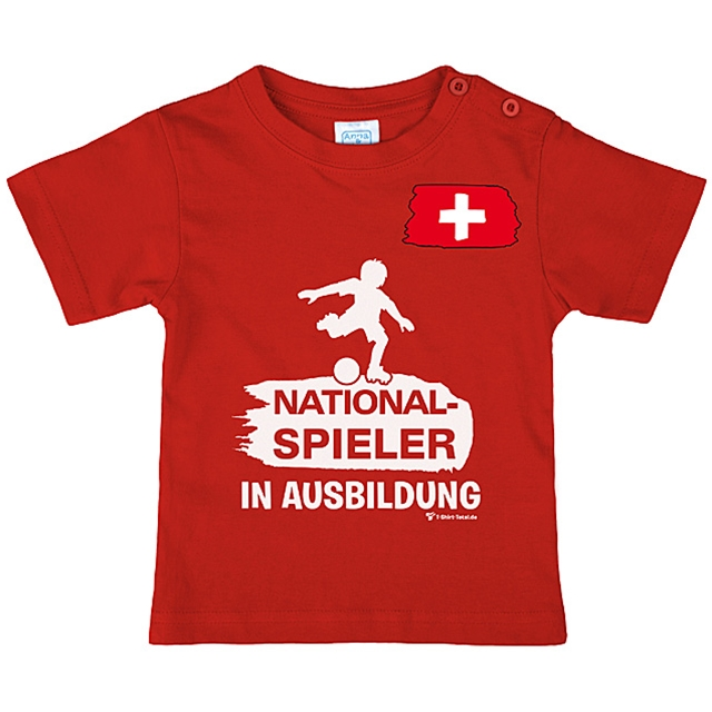 T-Shirt Nationalspieler Gr. 134/140