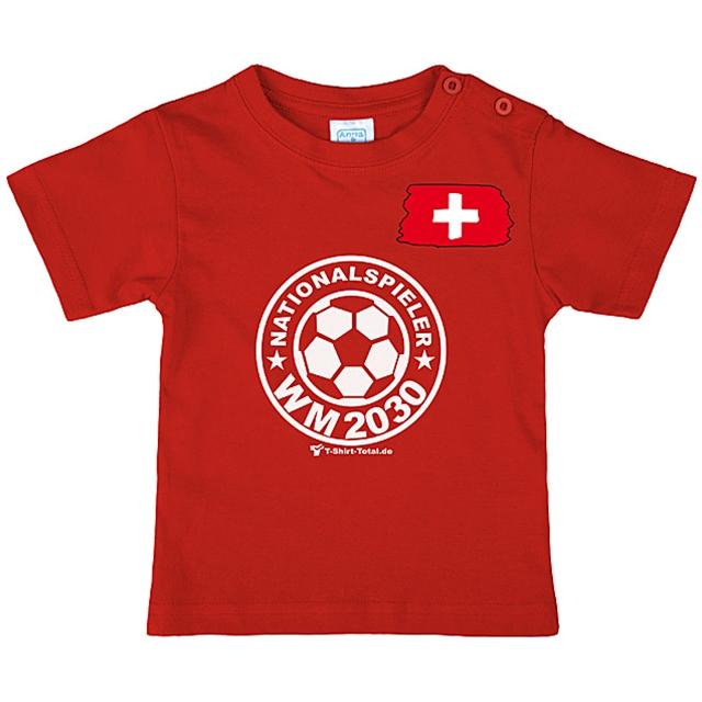 Kinder T-Shirt Nationalspieler 2030 Gr. 146/152