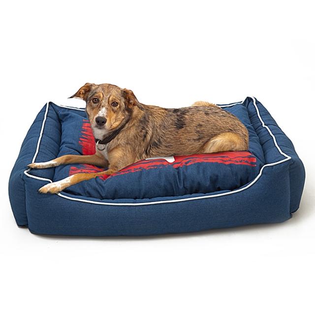 Flauschiges hundebett
