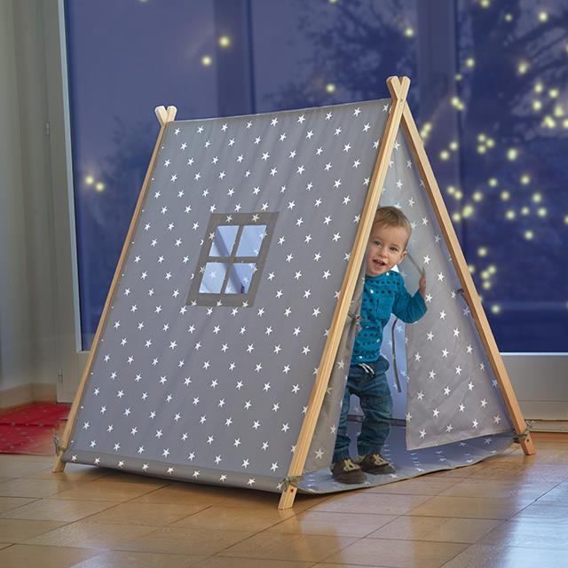 Kinder Spielzelt Sterne