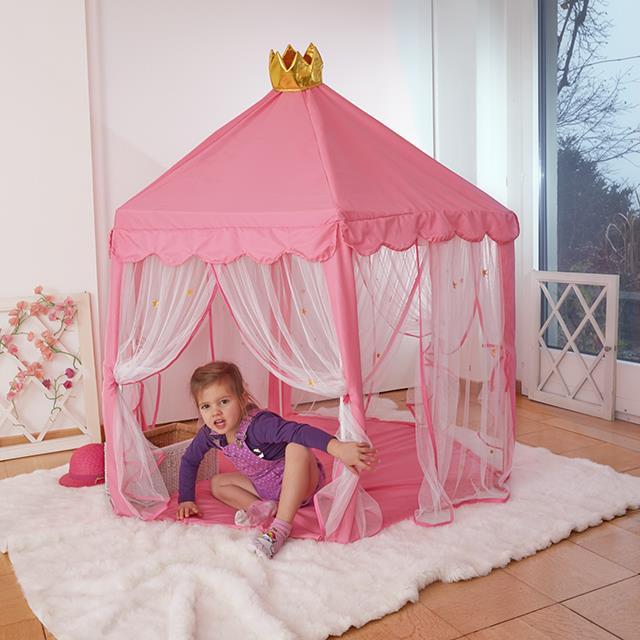Kinderspielhaus Zelt Prinzessinnen