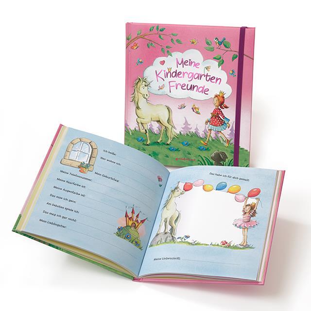 Kindergarten Freundschaftsbuch Einhorn