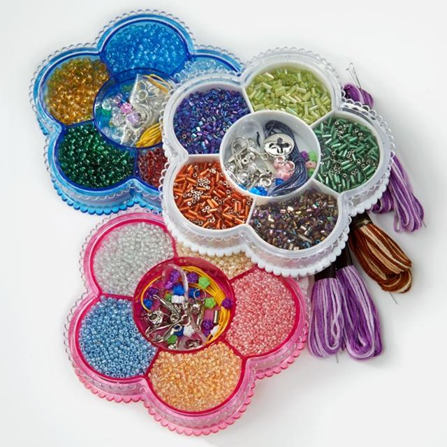 Perles en verre 7500 pces