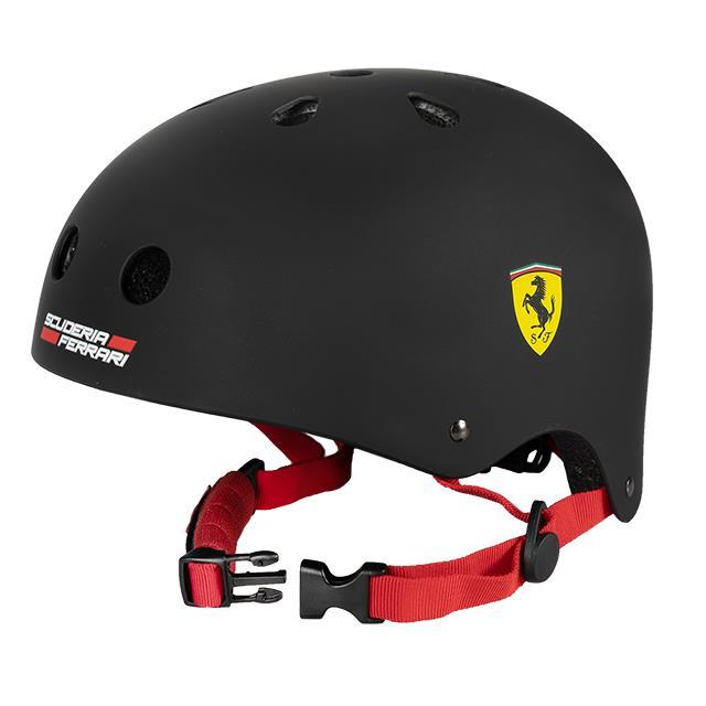 Kinderhelm Original Ferrari Look schwarz