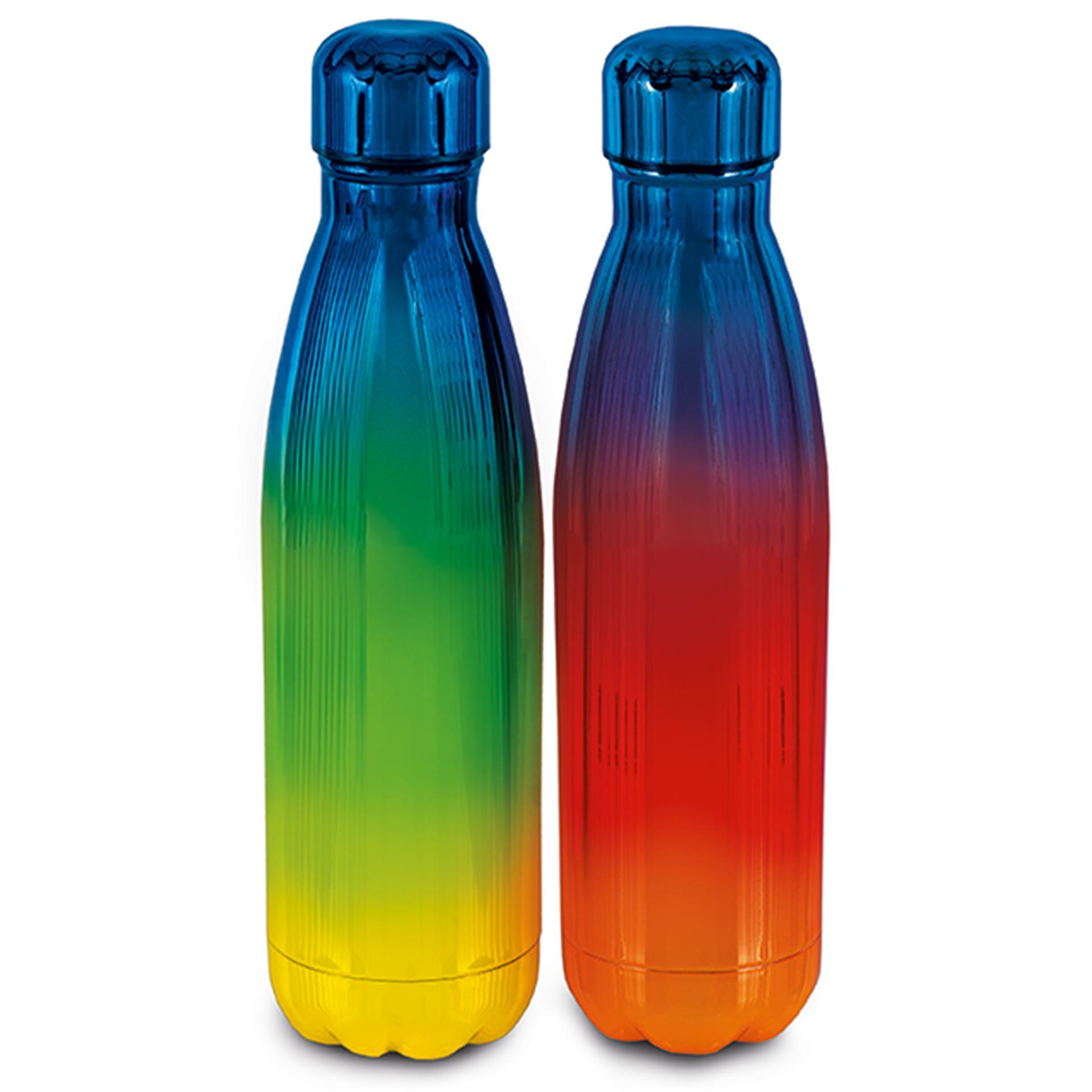 Edelstahl Design Trinkflaschen 2 Stk.
