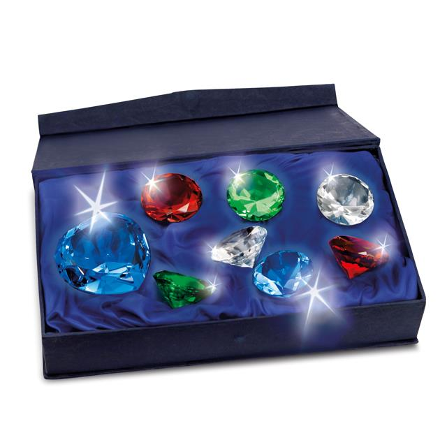 Deko Diamant-Glaskristalle 8 Stk.
