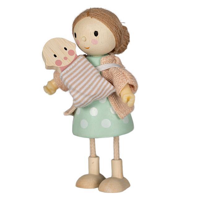 Biegepuppe Mama Goodwood mit Baby Tender Leaf Toys