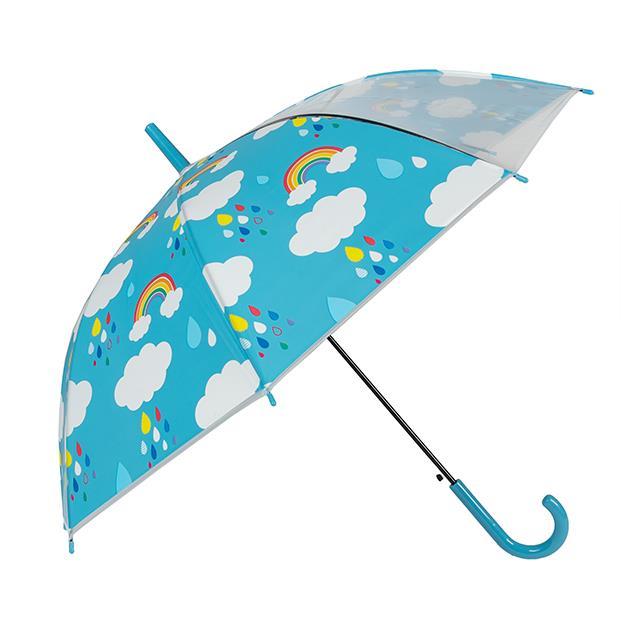Kinder Regenschirm blau