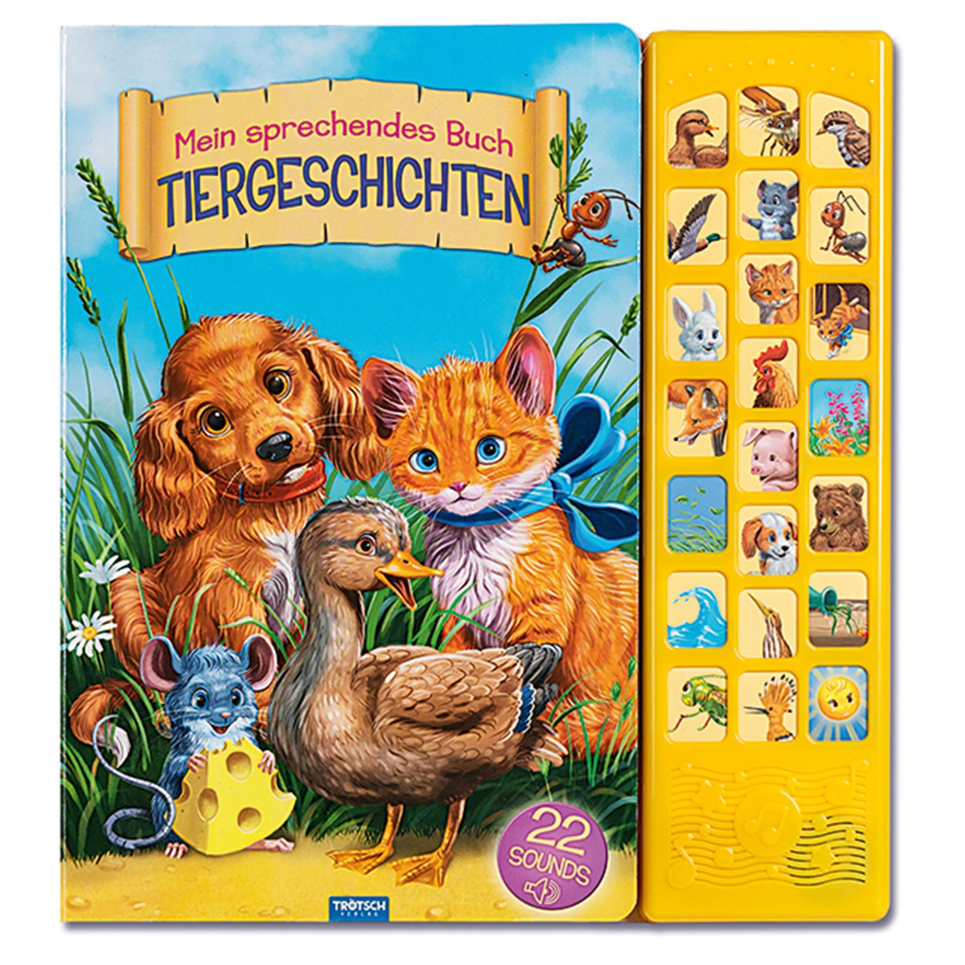Trötsch Meinsprechendes Buch Tiergeschichten