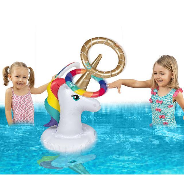 Einhorn Wasser Wurfspiel