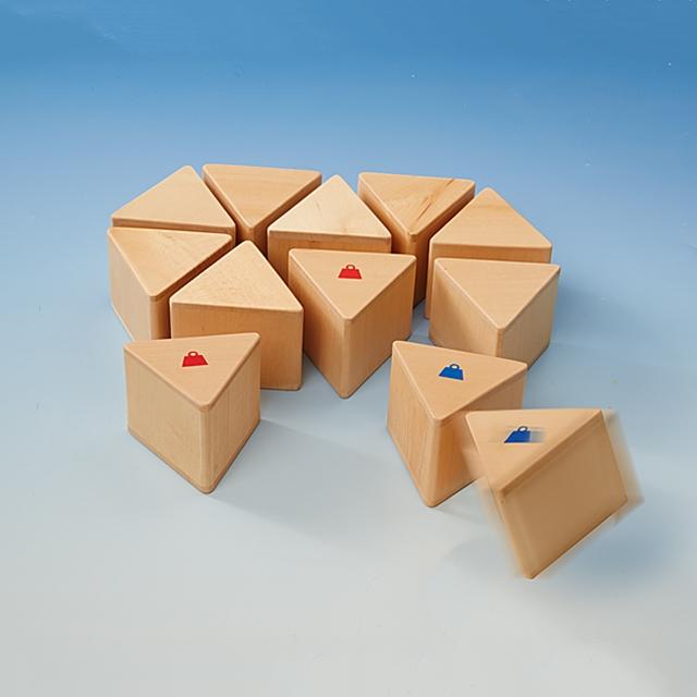 Entdecker Holz Spielsteine Fühlen, schätzen, finden