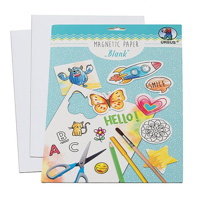Magnetic Paper Blank 4 Stk.