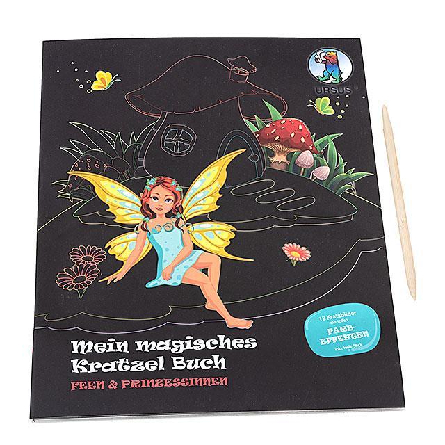Mein magisches Kratzelbuch Feen und Prinzessinnen