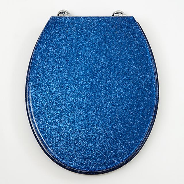 Siège de WC Glimmer Art Ocean Blue