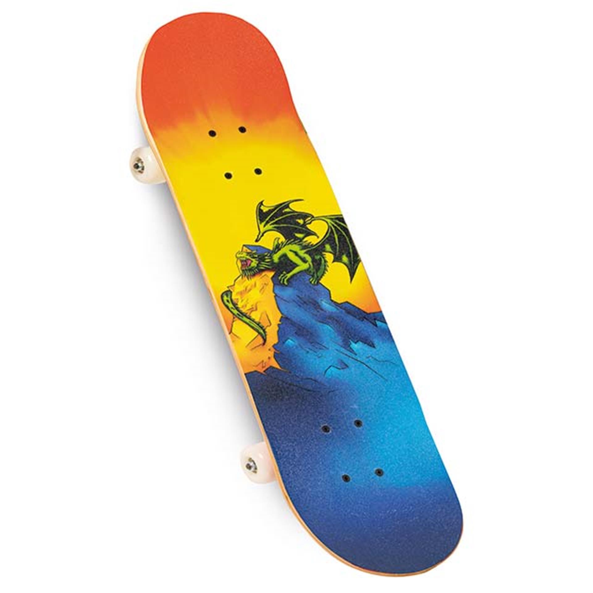 Skateboard Fire Dragon