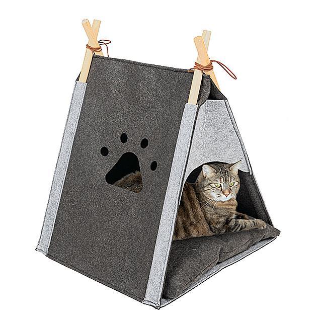 Katzenhöhle – Katzentipi