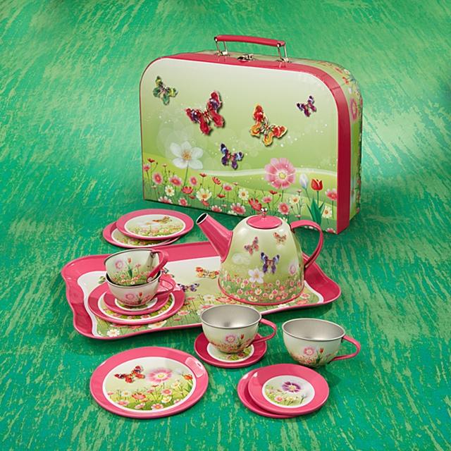 Spiel Teeset Schmetterling 15tlg.