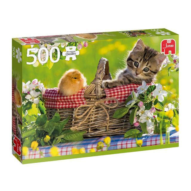 Puzzle Bereit für ein Picknick 500 Teile