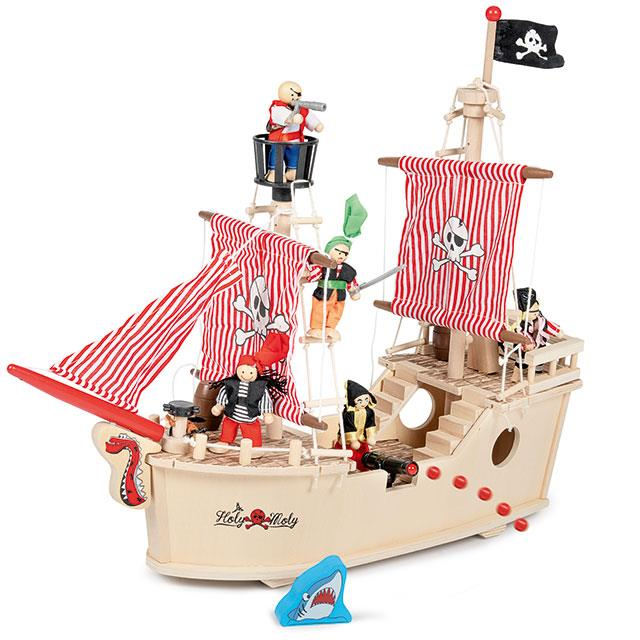 Piratenschiff 17tlg.
