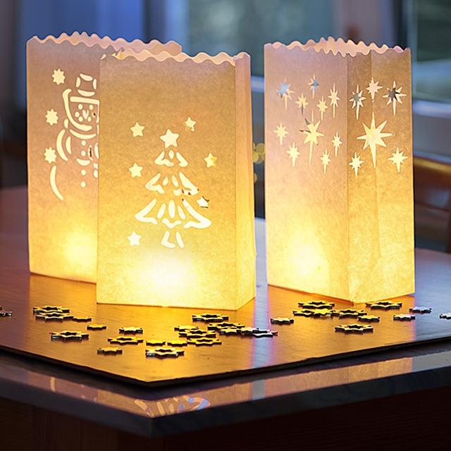 Lichtertüten Weihnachtszauber 15 Stk.