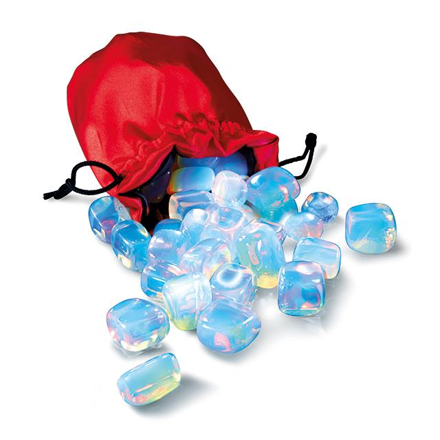 Opal Glas Steine 600 g