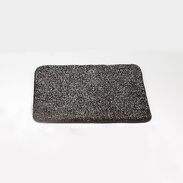 Badezimmerteppich Galaxy Black