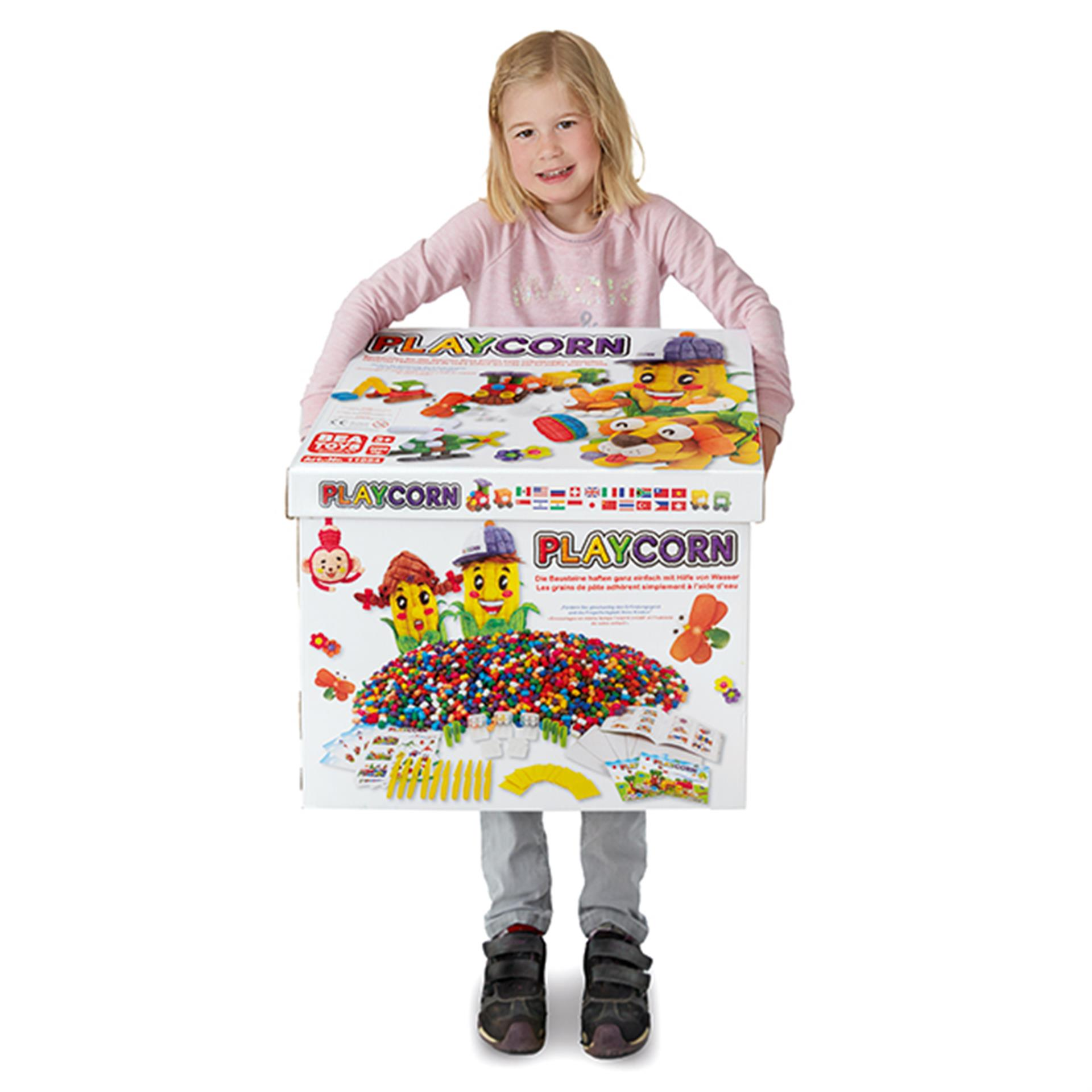 KITA Playcorn Mega-Box 3'000tlg.