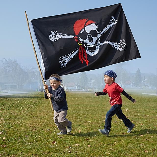Piratenflagge 90x150 cm