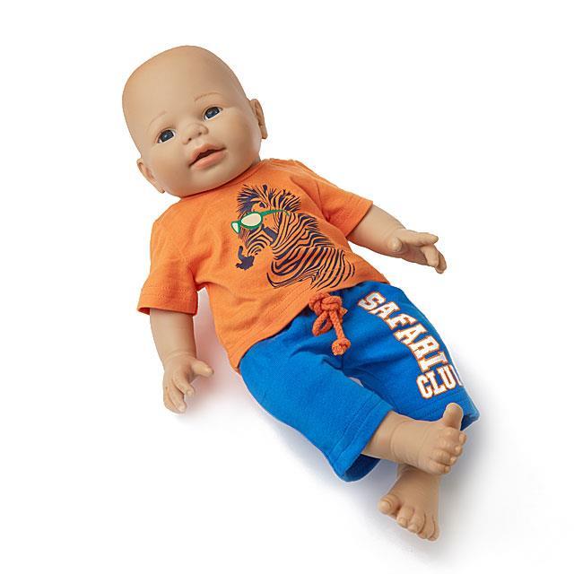 Puppen Freetimer Kombi BL 2tlg.
