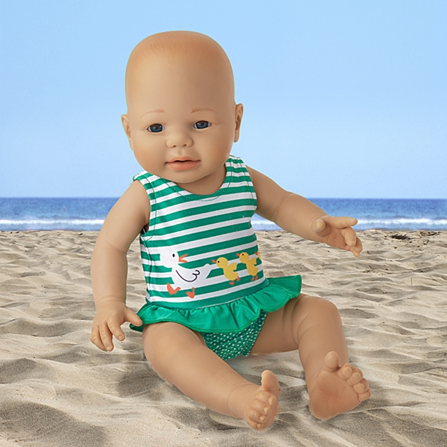 Puppen Badeanzug Ententanz BL
