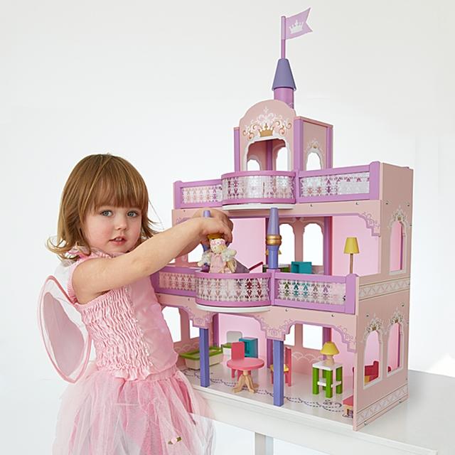Puppenhaus Märchenschloss